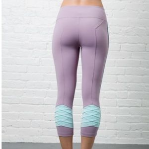 Crain & Lion Mermaid Crop legging